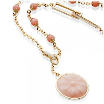 STENMARK Pink Opal necklace