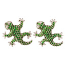 cufflinks - gecko mini
