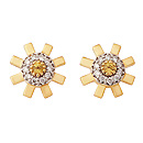 Sunray Earrings by Stenmark
